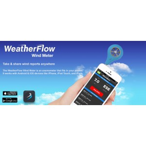 WeaterFlow Windmesser